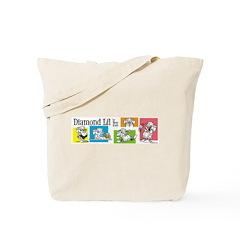 Diamond Lil Banner Tote Bag