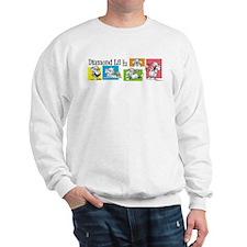 Diamond Lil Banner Sweatshirt