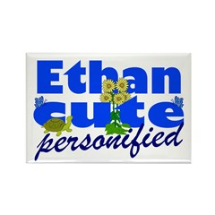 Cute Ethan Rectangle Magnet (100 pack)