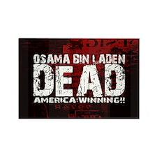 Osama Dead Rectangle Magnet (100 pack)