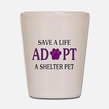 Save A Life Shot Glass