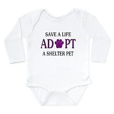 Save A Life Long Sleeve Infant Bodysuit