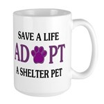 Save A Life Large Mug