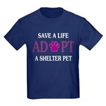 Save A Life Kids Dark T-Shirt