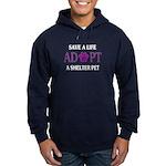 Save A Life Hoodie (dark)