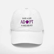 Save A Life Baseball Baseball Cap