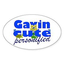 Cute Gavin Decal