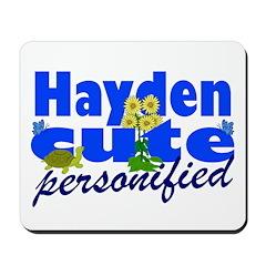 Cute Hayden Mousepad