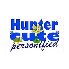 Cute Hunter 38.5 x 24.5 Wall Peel