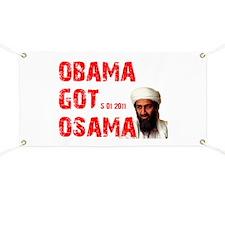 Obama Got Osama 5-01-2011 Banner
