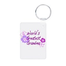 World's Greatest Grandma Keychains