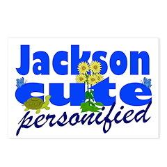 Cute Jackson Postcards (Package of 8)