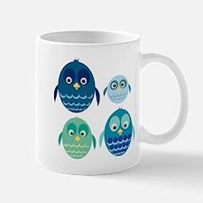 Blue Owl Family Mug