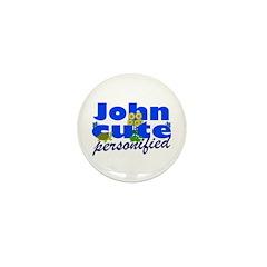 Cute John Mini Button