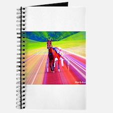 Cute Standardbred horse Journal