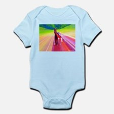 Unique Standardbred horse Infant Bodysuit