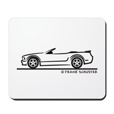 Ford GT Mustang Convertible Mousepad