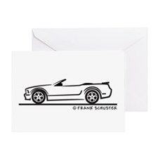 Ford GT Mustang Convertible Greeting Card