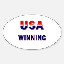 USA WINNING Decal