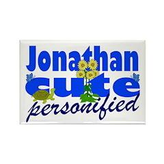 Cute Jonathan Rectangle Magnet (10 pack)