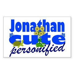 Cute Jonathan Decal
