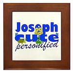 Cute Joseph Framed Tile