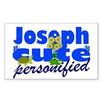 Cute Joseph Sticker (Rectangle 10 pk)