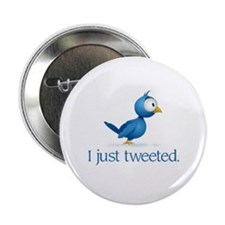 """Just Tweeted"" 2.25"" Button"