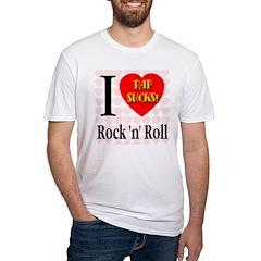 I Love Rock 'n' Roll Rap Suck Shirt