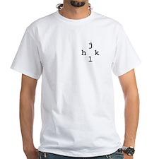 h-j-k-l vim navigation Shirt