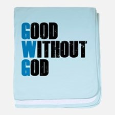 Good Without God baby blanket