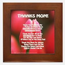 Thanks Mom Especially Poem