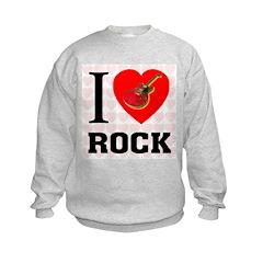 I Love Rock Sweatshirt