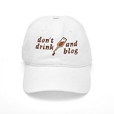 """Drink n Blog"" Baseball Cap"