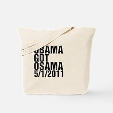 Obama Got Osama Tote Bag