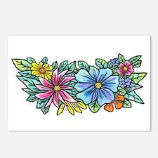 Flower Spray #1 Postcards (Package of 8)