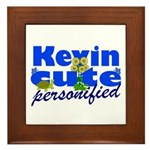 Cute Kevin Framed Tile