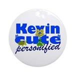 Cute Kevin Ornament (Round)