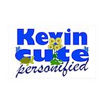 Cute Kevin 38.5 x 24.5 Wall Peel