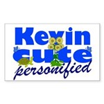 Cute Kevin Sticker (Rectangle 50 pk)