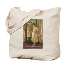 Aesop Quote Psyche Painting Tote Bag
