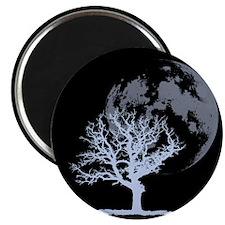 Dead Tree Moon Magnet