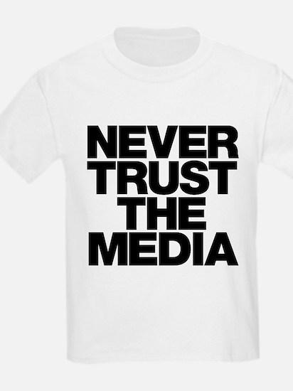 Never Trust The Media T-Shirt