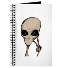 Cool Alien head Journal