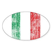 Vintage Italian Flag Decal