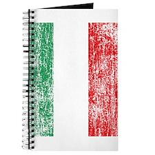Vintage Italian Flag Journal