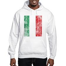 Vintage Italian Flag Hoodie
