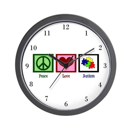Autism Puzzle Wall Clock