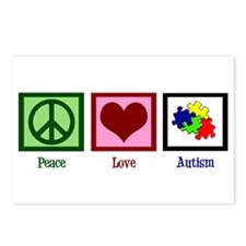 Autism Puzzle Postcards (Package of 8)