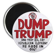 Dump Trump 2012 Magnet